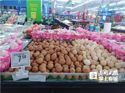 昆明鲜鸡蛋一公斤最低7.5元