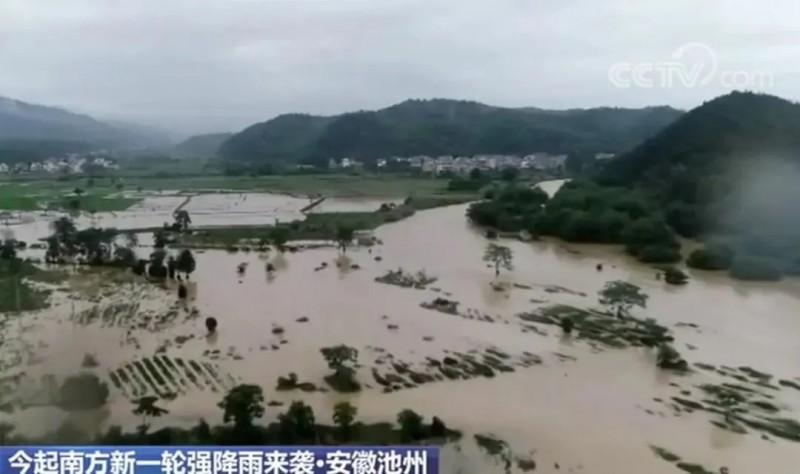 洪灾致近两千万人受灾 农作物受灾1560千公顷